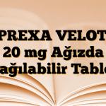 ZYPREXA VELOTAB 20 mg Ağızda Dağılabilir Tablet