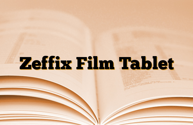 Zeffix Film Tablet