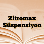 Zitromax Süspansiyon