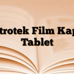 Zitrotek Film Kaplı Tablet