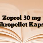 Zoprol 30 mg Mikropellet Kapsül