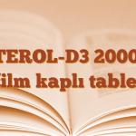 VİTEROL-D3 2000 IU film kaplı tablet