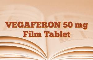 VEGAFERON 50 mg Film Tablet