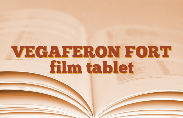 VEGAFERON FORT film tablet