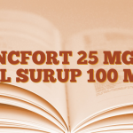 ZINCFORT 25 MG /5 ML SURUP 100 ML
