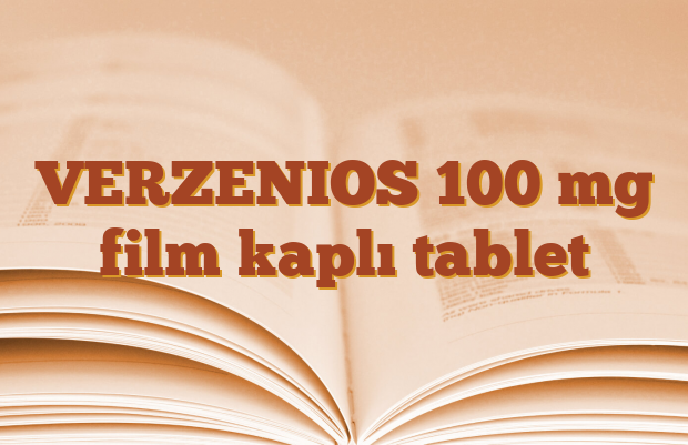VERZENIOS 100 mg film kaplı tablet