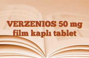 VERZENIOS 50 mg film kaplı tablet