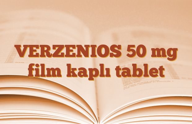 VERZENIOS 50 mg film kaplı tablet
