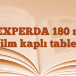 VEXPERDA 180 mg film kaplı tablet