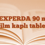 VEXPERDA 90 mg film kaplı tablet