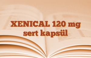XENICAL 120 mg sert kapsül