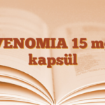 VENOMIA 15 mg kapsül