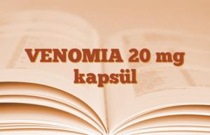 VENOMIA 20 mg kapsül