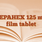 ZEPAHEX 125 mg film tablet