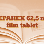 ZEPAHEX 62,5 mg film tablet