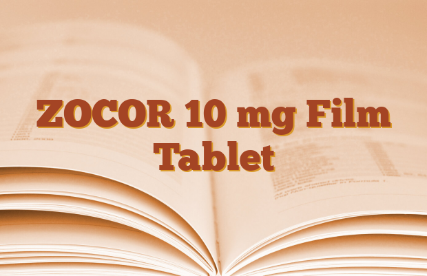 ZOCOR 10 mg Film Tablet