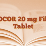 ZOCOR 20 mg Film Tablet