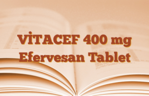 VİTACEF 400 mg Efervesan Tablet
