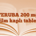 YERUBA 200 mg film kaplı tablet