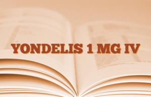 YONDELIS 1 MG IV