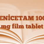 ZENİCETAM 1000 mg film tablet