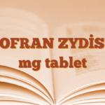 ZOFRAN ZYDİS 4 mg tablet
