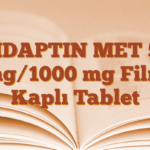 VIDAPTIN MET 50 mg/1000 mg Film Kaplı Tablet