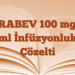 ZİRABEV 100 mg/4 ml İnfüzyonluk Çözelti