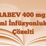 ZİRABEV 400 mg/16 ml İnfüzyonluk Çözelti
