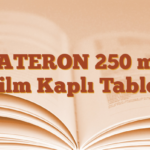 ZATERON 250 mg Film Kaplı Tablet