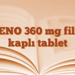 ZENO 360 mg film kaplı tablet