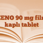 ZENO 90 mg film kaplı tablet