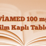 VİAMED 100 mg Film Kaplı Tablet