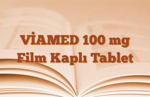 VİAMED 100 mg Film Kaplı Tablet