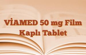VİAMED 50 mg Film Kaplı Tablet
