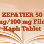 ZEPATIER 50 mg/100 mg Film Kaplı Tablet