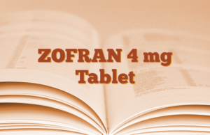 ZOFRAN 4 mg Tablet
