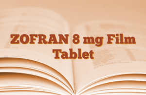 ZOFRAN 8 mg Film Tablet