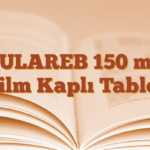 YULAREB 150 mg Film Kaplı Tablet