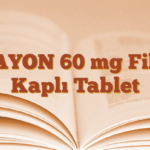 ZAYON 60 mg Film Kaplı Tablet