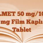 VİLMET 50 mg/1000 mg Film Kaplı Tablet